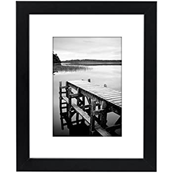 Amazon Com 8x10 Black Picture Frame Made To Display