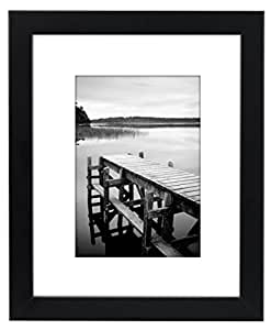 Amazon Com Americanflat 8x10 Black Picture Frame Made