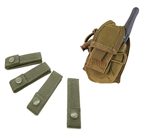 (Condor 4 inches Green MOD Straps and Condor MA-56: HHR Pouch bundled by Maven Gifts)