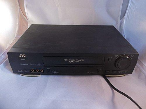 JVC HR-VP780U VCR Black with Gold Trim VHS Player with Record, AV Compu Link, DA 4 Head, HQ Hi-Fi EnergyStar VCR Plus, Pro-cision Plug & Play SQPB (Jvc Hr Vcr)