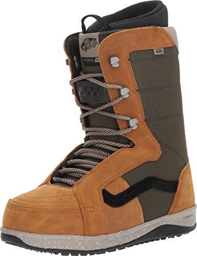 Vans Hi-Standard Pro Men's Snowboard Boots, Brown/Green, 2019 (11 D US)