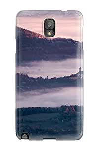 linJUN FENGFashionable Style Case Cover Skin For Galaxy Note 3- Foggy Landscape
