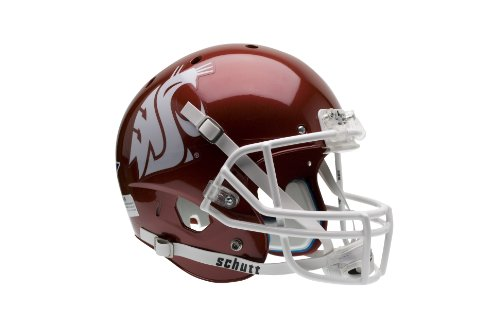 NCAA Washington State Cougars Replica XP Helmet - Alternate (Crimson)