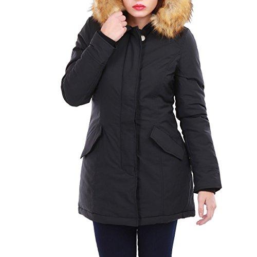 La Modeuse - Abrigo - para mujer negro