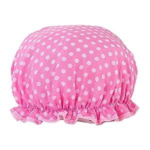 Gorras De Ducha Elásticas Impermeables Sombrero De Baño De Doble ...