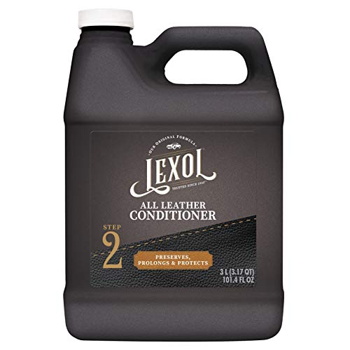 Lexol E300858100 Leather Conditioner, 3 Liters, Best Cleaner and Conditioning Since 1933 3-Liter for Use on Apparel, Furniture, Auto Interiors, Shoes, Bags and More