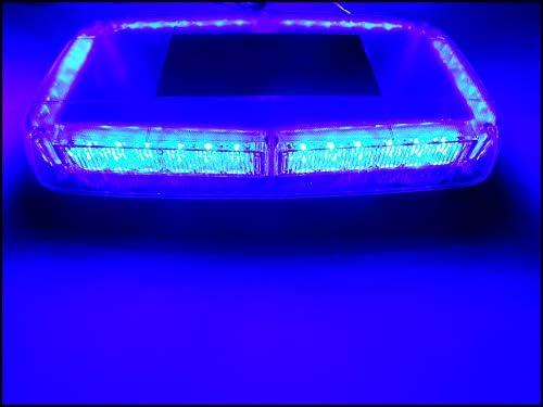 Auto Blitzer HEHEMM 36 Led Autodach Lichter Warnleuchte Led Frontblitzer Blinklampe Auto Blitzlicht Automotive Notlicht Warnlicht Led Lichtleiste Gefahr Bernstein Licht DC 12V 36W Bernstein