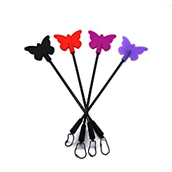 SCARLET KITTEN Silicone Riding Crop Hors...
