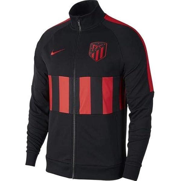 Nike 2019-2020 Atletico Madrid I96 Jacket (Black): Amazon.es ...