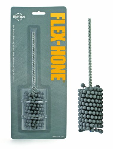 Brush Research BC Standard Flex Hone for Brake Cylinders, Hydraulics and Valve Guides, Aluminum Oxide, 3/4