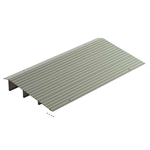 "EZ-ACCESS TRANSITIONS Modular Aluminum Entry Ramp, 3"" Rise"