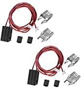 Terminal Block Kit WB17T10006 Range Surface Burner Plug Connector Replacement Kit by AMI PARTS Co...