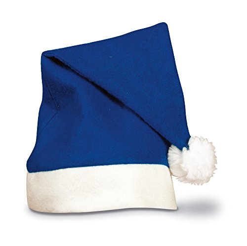 (eBuyGB Adults Unisex Festive Christmas Santa Hat - Pack of 4)