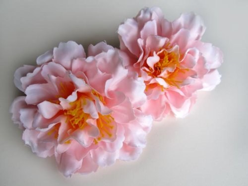 12-Silk-Pink-Peony-Flower-Heads-4-Artificial-Flowers-Peonies-Head-Fabric-Floral-Supplies-Wholesale-Lot-for-Wedding-Flowers-Accessories-Make-Bridal-Hair-Clips-Headbands-Dress
