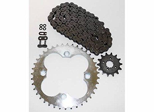 Honda TRX400X O Ring Chain and Sprocket Black 14/39 94L (Roller Chain O-ring)