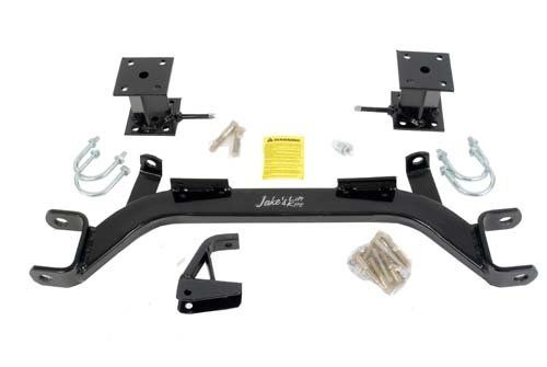 EZGO Marathon Golf Cart Jake's 4'' Axle Lift Kit Electric 1989-94 by Golf Cart King