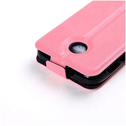 Funda Vodafone Smart Mini 7,Manyip Caja del teléfono del cuero,Protector de Pantalla de Slim Case Estilo Billetera con Ranuras para Tarjetas, Soporte Plegable, Cierre Magnético F