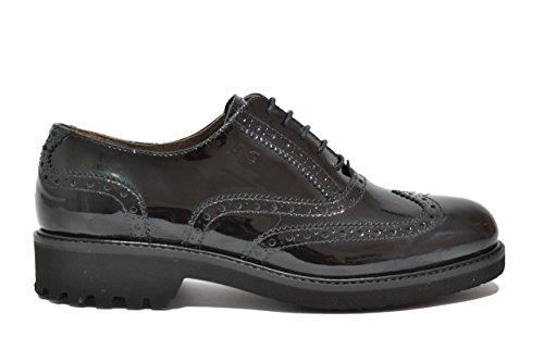 Nero Giardini - Zapatos de cordones para mujer negro