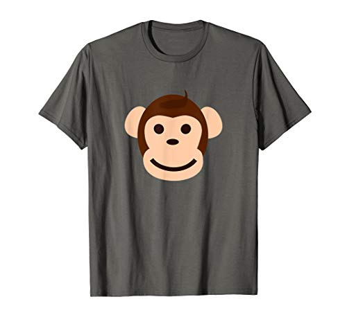 (Cute Funny Monkey Smile Face T-Shirt)