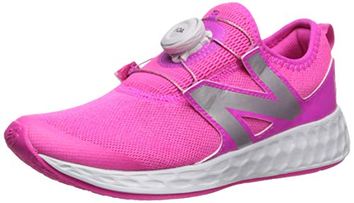 New Balance Girls' N Speed V1 Running Shoe, Light Peony, 3.5 W US Big Kid