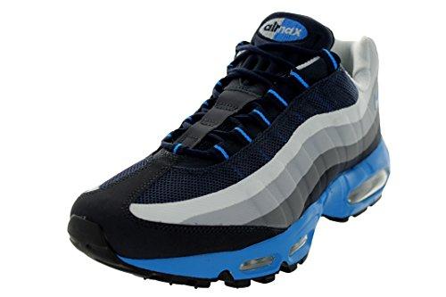Nike Air Max 95 No Sew Men Shoes Cool Grey Woolf Grey Pure Platinum Dark Obsidian 616190-004