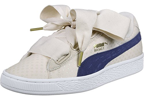 Blue Basket Denim Baskets twilight Heart Oatmeal Puma Femme 06nqppx