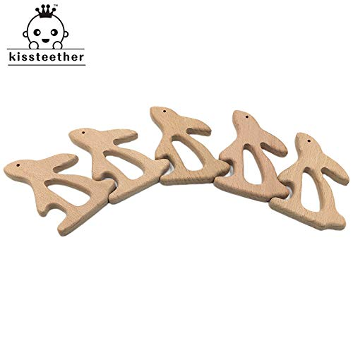 Baby Beech Wooden Teeth Rabbit Nursing Necklaces Accessories| for sale  Delivered anywhere in Canada