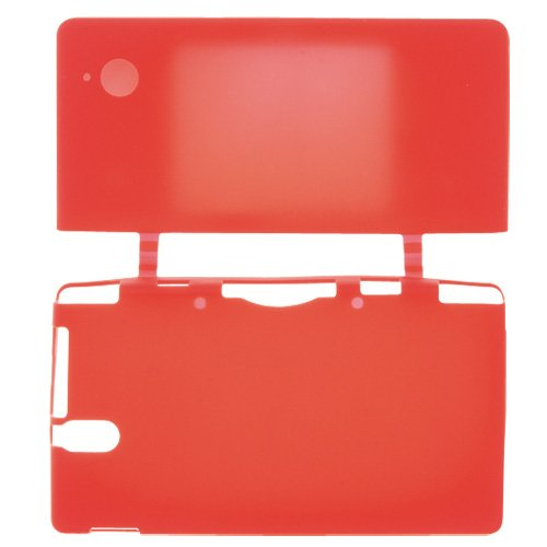 DSi Silicon Jacket Clear Red by Cyber Gadget