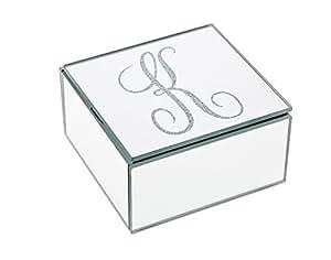 "Philip Whitney 4x4 Mirror Box Monogram ""K"""