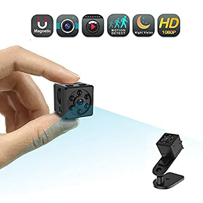 Mini Spy Camera, CHUHE 1080P Portable HD Covert Body Cam with Night Vision and Motion Detection,Indoor/Outdoor Small Security Camera,Perfect Hidden Camera for Home and Office from Shenzhen Chuanhe Innovation Technology Co., Ltd.