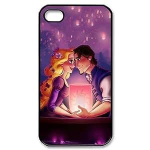 Customize Cartoon Tangled Princess Back Case for iphone 4 4S JN4S-1888