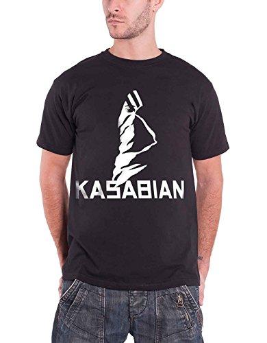 Kasabian T-shirts - Kasabian Ultra Face Official Mens New Black T Shirt [Apparel]