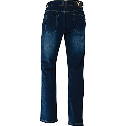 Bull-it SR4 Flex Covec Men's Reinforced Jeans (Blue, 32L x 38W)