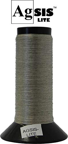 AGSIS-LITE Conductive Silver-Coated Nylon Thread for E-Textiles and Other Wearable Electronics (1000 ft.) by AGSIS