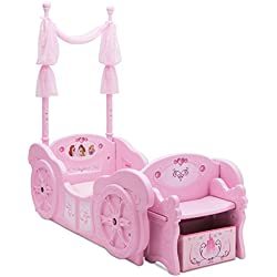 Delta Children Disney Princess Carriage Toddler-to-Twin Bed