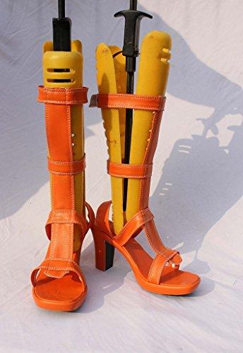 Een Stuk Anime Nami Cosplay Schoenen Laarzen Op Maat Gemaakt