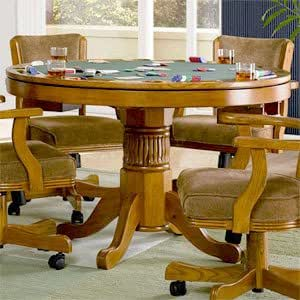 Oak Three-In-One Game Table - Coaster 100951 PNo: 100951
