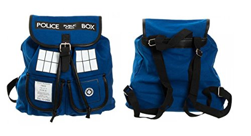 Doctor Who Tardis Knapsack Backback