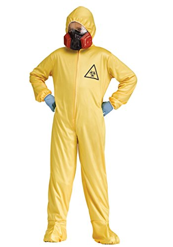 Hazmat Suit Kids Costume (Hazmat Suit Costume Halloween)
