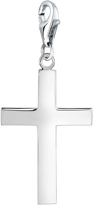 Argent sterling poli Infinity Symbole Pendentif Nouveau Charme