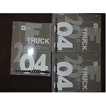 2004 Cadillac SRX TRUCK Service Repair Shop Manual Set FACTORY BOOKS OEM 04 (3 volume set.)