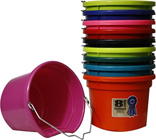 8 Quart Flat Back Bucket 8.5