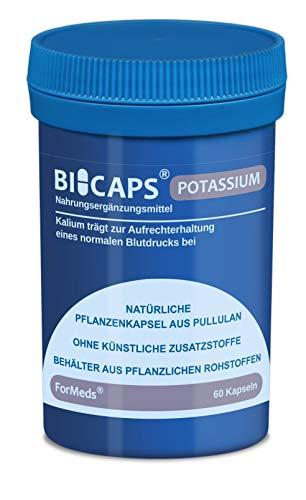 Formeds BICAPS POTASSIUM Kaliumcitrat - 1000 mg (Kalium - 360 mg (18%)), 60 Kapseln