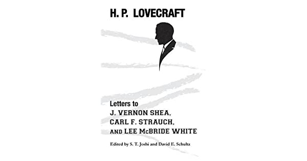 Amazon.com: Letters to J. Vernon Shea, Carl F. Strauch, and ...