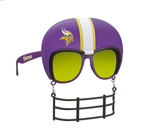 Rico Industries NFL Minnesota Vikings Novelty Tailgating Sunglasses