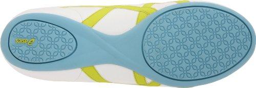 Asics Womens Gel-ilyeo Ii Sport Style Sneaker Bianco / Lime