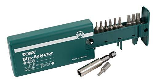 - Wiha 79242 10 Piece Torx Bit Selector (T5-T30)
