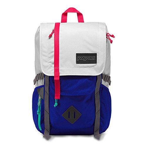 JanSport Hatchet Backpack - Goose Grey/Regal Blue,One Size