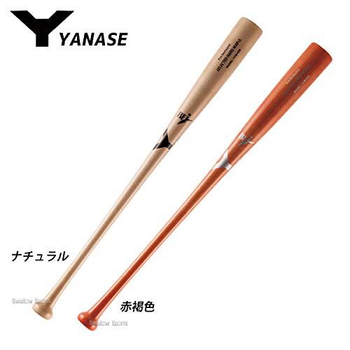 ヤナセ 硬式木製バット メイプル トップバランス BFJマーク入り YCM-026 B07KPCNLCY  ナチュラル 83.5cm