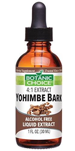 Bark Liquid - Botanic Choice Yohimbe Bark Alcohol Free Liquid Extract, 1 Fluid Ounce